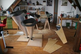 Atelier als werkplaats