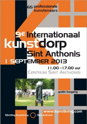 Zondag 31 augustus kunstmanifestatie Sint Anthonis
